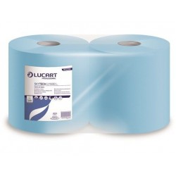 Premium Blue 1000 Sheet 2ply Wiping Roll