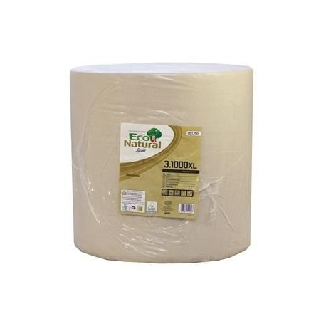 Recycled Eco Natural 3ply Wiping Roll