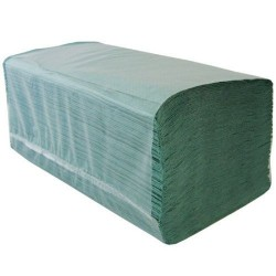 Economy Green Interfold Paper Towels Recycled