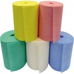 Multi-cloth Rolls Non-Woven 1500 Sheets - Red