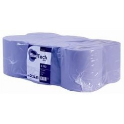 Bluetech 2 Ply Blue Centrefeed Rolls
