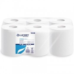 Lucart Strong Centrefeed Rolls Pure Pulp