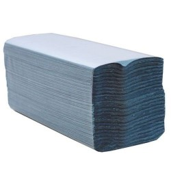 C Fold Hand Towels Blue