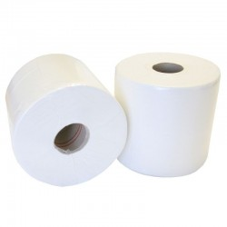 Mini Centrefeed Rolls Designed For Twin Dispensers
