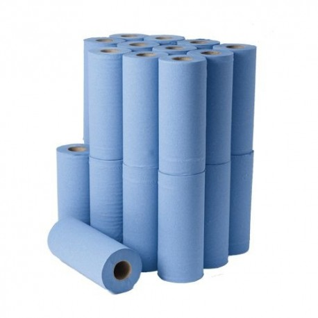 Hygiene Roll Recycled 2 Ply Blue